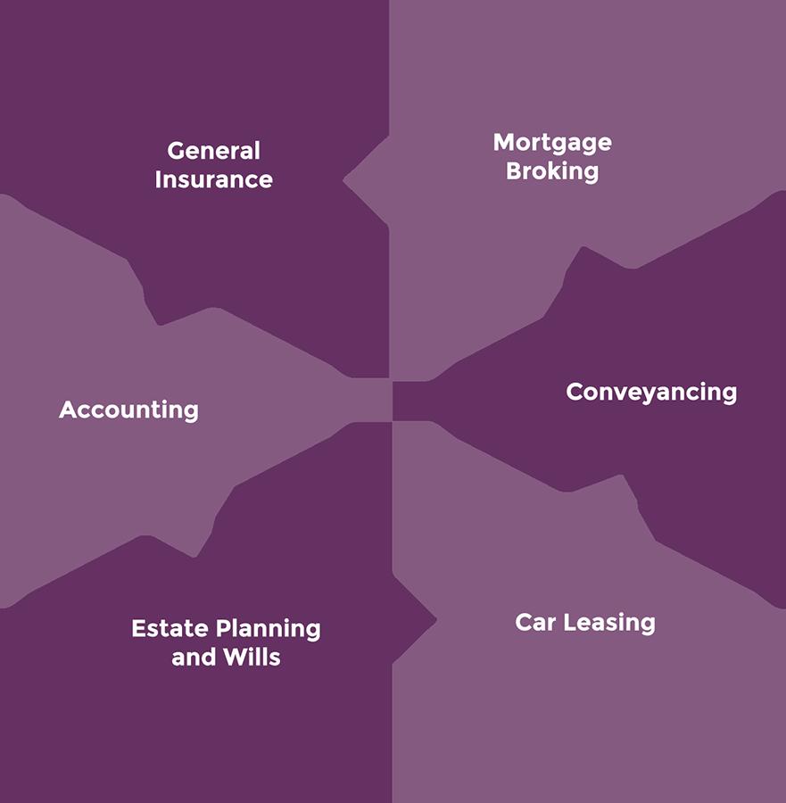 Affiliate Services Puzzle Graph